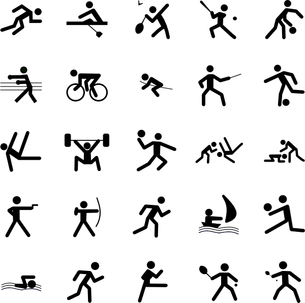 sports symbols clip art at clker com