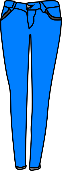 clipart picture of jeans - photo #8