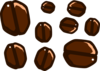 Cartoon Coffee Beans Clip Art