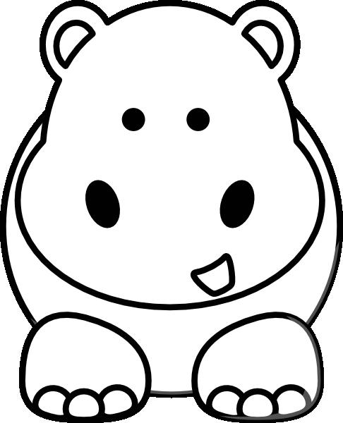 free clip art hippo cartoon - photo #19