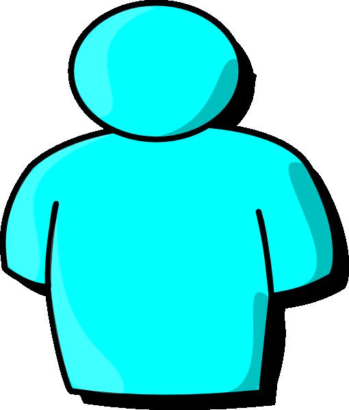 light blue person clip art at clker com vector clip art online rh clker com clip art person running clip art person drawing
