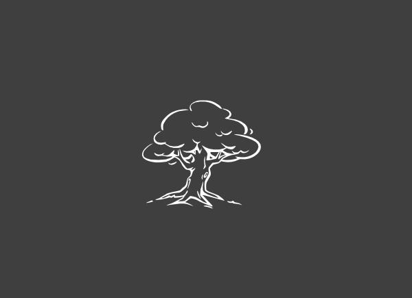 clip art tree black and white. White Tree clip art