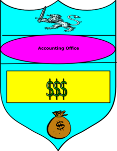 Money Crest Clip Art