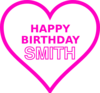 Smith Bday19 Clip Art
