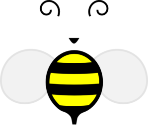 Honey Bee One Clip Art