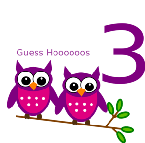 Birthday Owl Clip Art