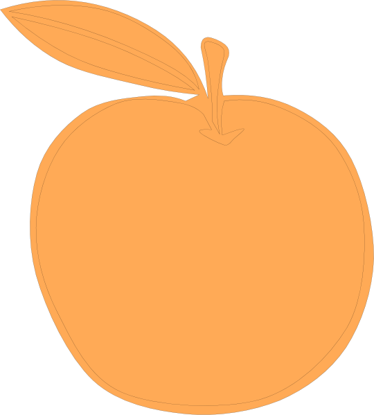 clipart apples and oranges - photo #13