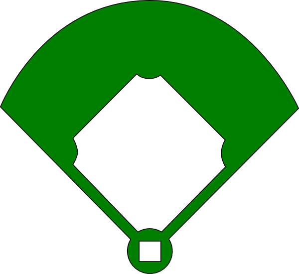 Baseball Base Clipart Epic baseball field clip art