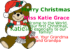 Christmas Bear Tag Clip Art