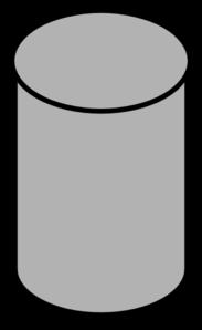 Grey Database Clip Art at Clker.com - vector clip art ...