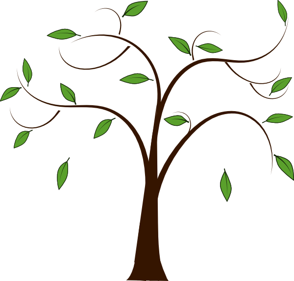 Tree Leaves Clip Art at Clker.com - vector clip art online, royalty ...