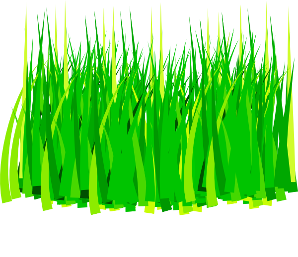 Cartoon Jungle Grass Grass 3 clip art - vector clip