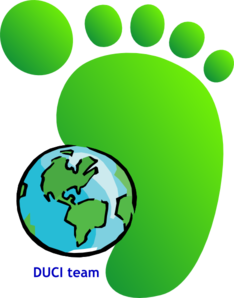 Green Feet3 Clip Art