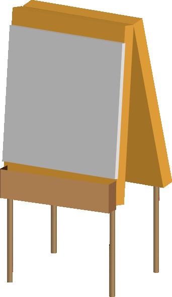 Easel 2 Clip Art at Clker.com - vector clip art online, royalty free ...