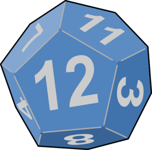 Dice Game Clip Art