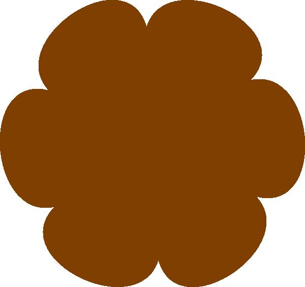 Brown Flower 3 Clip Art at Clker.com - vector clip art online ...