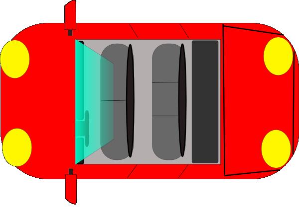 Car Top View Clip Art At Clker Com Vector Clip Art Online Royalty Free Amp Public Domain