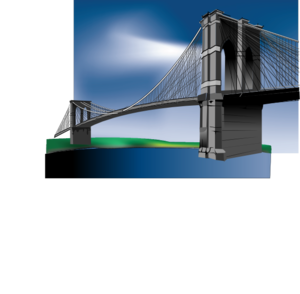 Brooklyn Bridge (edited) Clip Art