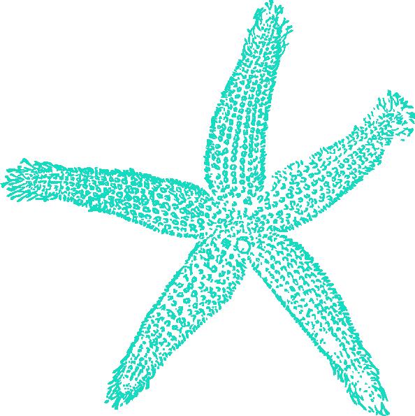 Blue Starfish Clip Art at Clker.com - vector clip art ...