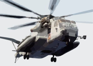 A Ch-53e Super Stallion Prepares To Land On The Flight Deck To Transfer Elements From The Second Marine Expeditionary Brigade (2nd Meb) To The Amphibious Assault Ship Uss Bataan (lhd 5) Clip Art