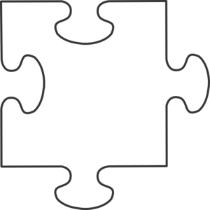 Transparent Puzzle Piece Clip Art