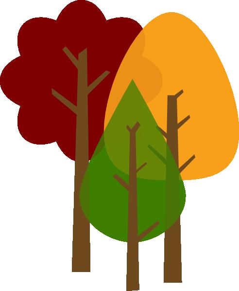 Fall Trees Clip Art at Clker.com - vector clip art online ...