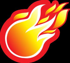 Fireball Clip Art at Clker.com - vector clip art online ...