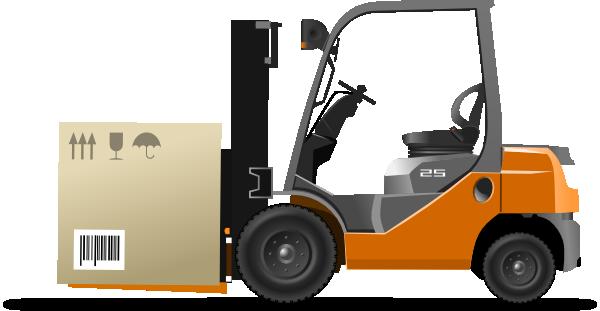 Forklift Clip Art at Clker.com - vector clip art online ...