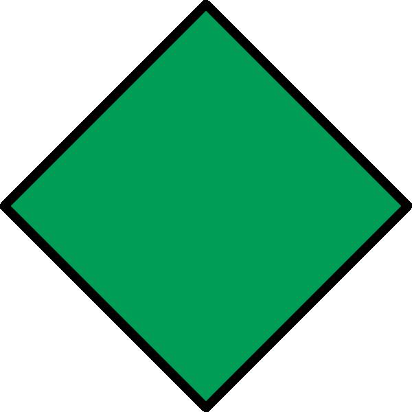 Green Diamond Clip Art at Clker.com - vector clip art ...