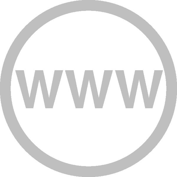web logo grey clip art at vector clip art