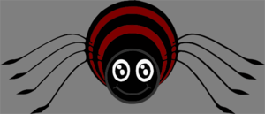 Cartoon Spider Clip Art