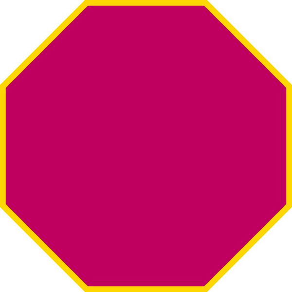 purple octagon clip art at clker com vector clip art