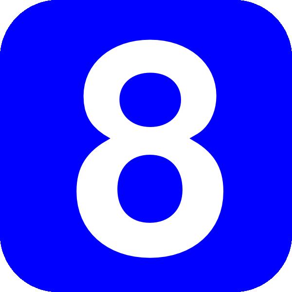 Number 8 Clip Art