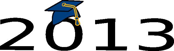 graduation 2013 blue clip art at clker com vector clip art online rh clker com Class of 2013 Logo Graduation Class of 2015