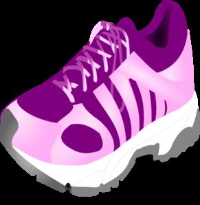 Running Shoe Clip Art at Clker.com - vector clip art ...