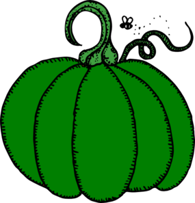 Green Pumpkin Clip Art at Clker.com - vector clip art online, royalty ...