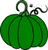 Green Pumpkin Clip Art