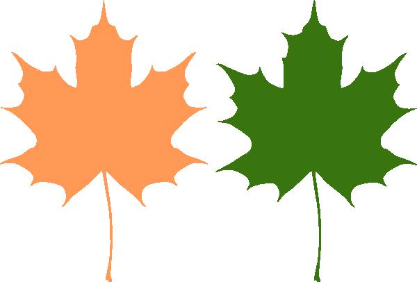 Maple Leaves Clip Art at Clker.com - vector clip art ...