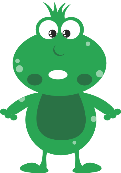 green frog clipart - photo #14