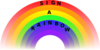 Sign A Rainbow Clip Art
