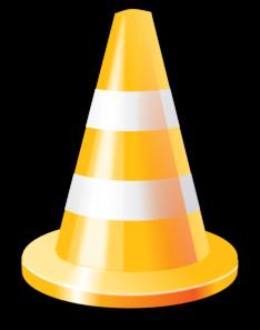 Clip Art Cone Clip Art yellow cone clip art at clker com vector online art
