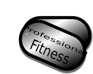 Professional Fitness Clip Art