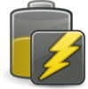 Medium Charging Battery Clip Art
