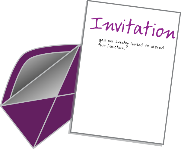 invitation clipart png - photo #2