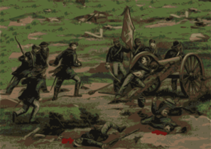 Civil War Battle Clip Art