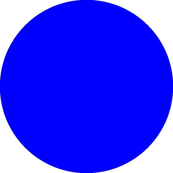 blue circle clip art - photo #1