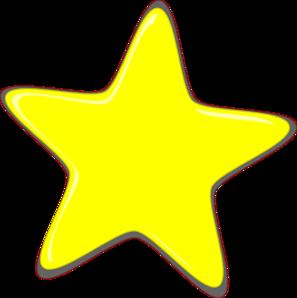 Small Yellow Star Clip Art