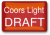 Coors Light Draft Clip Art