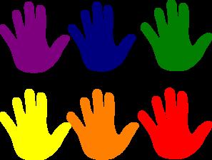 hands various colors clip art at clker com vector clip art rh clker com high five clip art free high five animated clipart