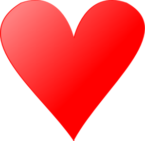 Heart Red Clip Art